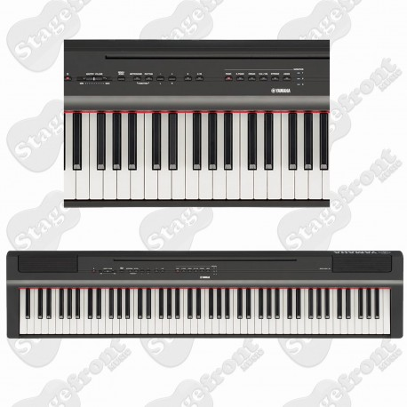 YAMAHA P-125 COMPACT DIGITAL PIANO HIGH-QUALITY SOUND AND NATURAL PIANO TOUCH