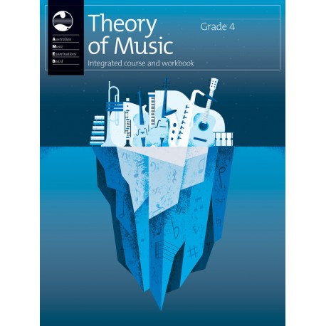 AMEB THEORY OF MUSIC GRADE 4 INTEGRATED COURSE & WORKBOOK