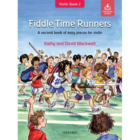 FIDDLE TIME RUNNERS BOOK & OLA REVISED EDITION - KATHY & DAVID BLACKWELL