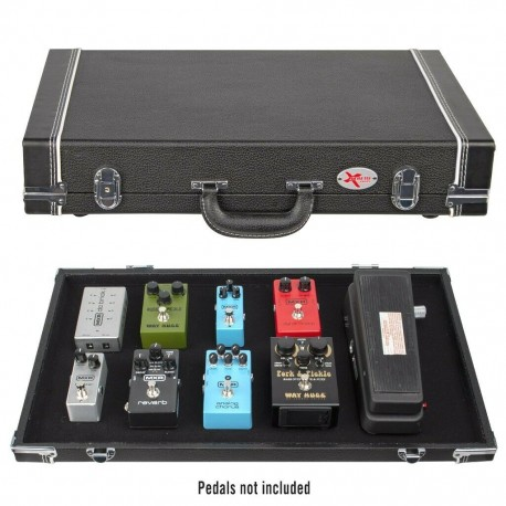 ROADCASE VINTAGE STYLE EFFECTS PEDAL ROAD CASE WITH REMOVABLE LID PC220
