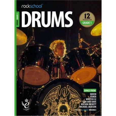 ROCKSCHOOL DRUMS GRADE 1 2018 – 2024 NEW EDITION