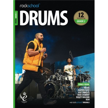ROCKSCHOOL DRUMS GRADE 2 2018 – 2024 NEW EDITION