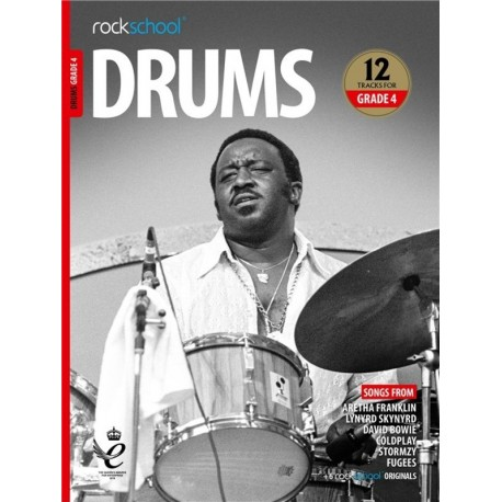 ROCKSCHOOL DRUMS GRADE 4 2018 – 2024 NEW EDITION