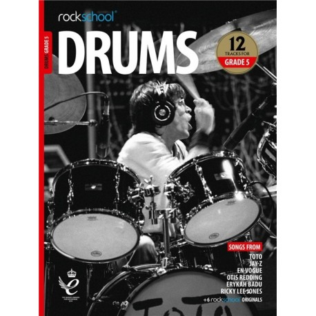 ROCKSCHOOL DRUMS GRADE 5 2018 – 2024 NEW EDITION