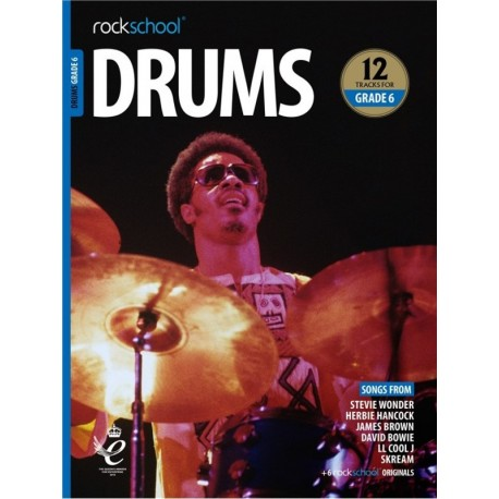 ROCKSCHOOL DRUMS GRADE 6 2018 – 2024 NEW EDITION