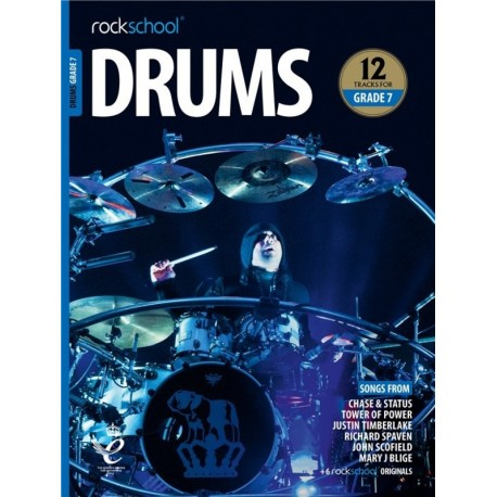 ROCKSCHOOL DRUMS GRADE 7 2018 – 2024 NEW EDITION