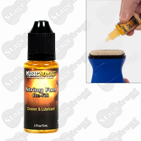 MUSIC NOMAD STRING FUEL STRING LUBRICANT & CONDITIONER REFILL - MN120