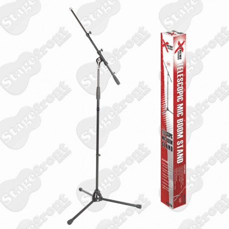 MICROPHONE BOOM STAND. HEAVY DUTY. TWO STAGE BOOM EXTENSION 664/485BM - NEW