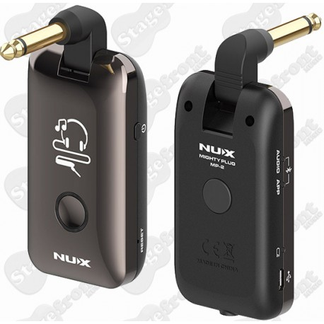 NUX MP-2 MIGHTY PLUG GUITAR & BASS AMP MODELING EARPHONE AMPLUG BEST SILENT AMP EXPERIENCE EVER