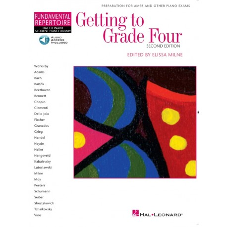 GETTING TO GRADE 4 FOUR - BOOK/CD - MELISSA MILNE