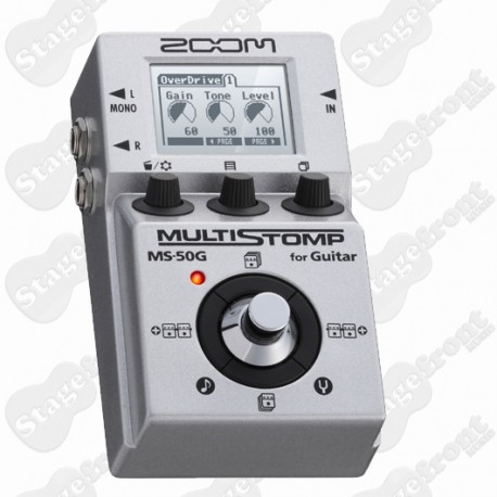 ZOOM MS-50G STOMPBOX AND MULTI EFFECTS PROCESSOR PEDAL