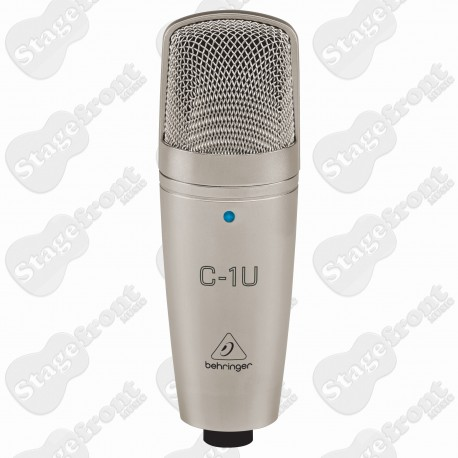 BEHRINGER C1U CONDENSER MIC WITH BUILT-IN USB INTERFACE