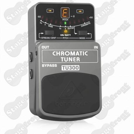 BEHRINGER CHROMATIC TUNER -TU300  Ultimate Guitar/Bass Tuner