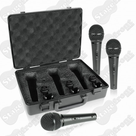 BEHRINGER ULTRAVOICE XM1800S MICROPHONE 3-PACK