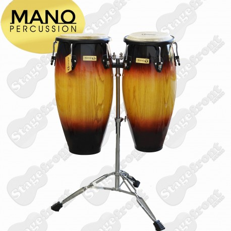 "MANO CONGAS MP1601SB. SET OF 10"" & 11"" GOOD QUALITY SELECT WOOD SHELLS"