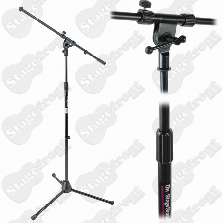 ONSTAGE MS7701B MICROPHONE ADJUSTABLE EURO-BOOM MIC STAND