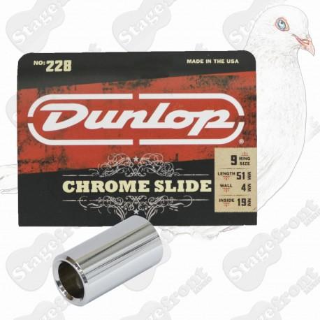 JIM DUNLOP J228 Pro Slide Heavy Wall Chromed Steel. Cutting tone, great sustain