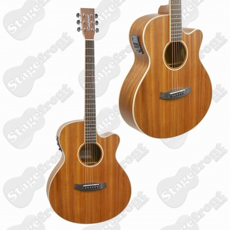 TANGLEWOOD TWUSFCE UNION SUPERFOLK BODY SOLID TOP ACOUSTIC GUITAR