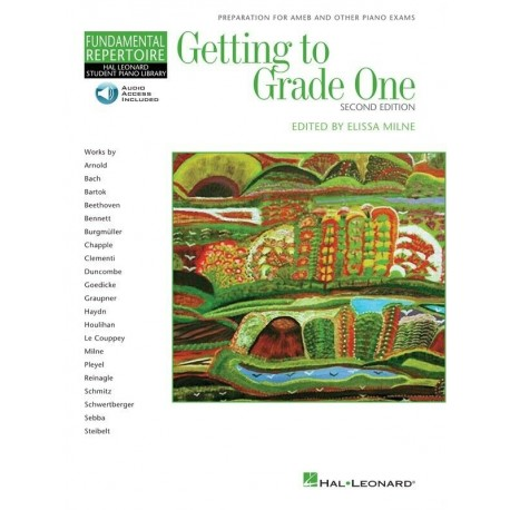 GETTING TO GRADE 1 ONE 2nd EDITION - BOOK/CD - MELISSA MILNE