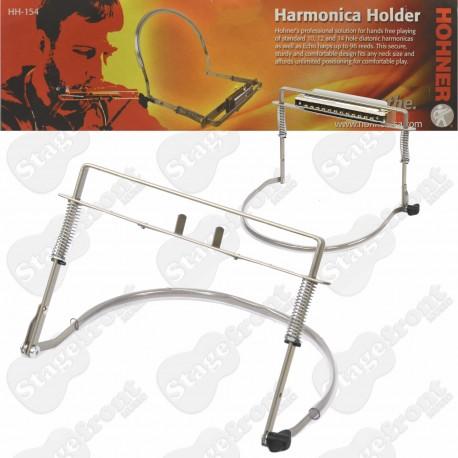 HOHNER HH154 CHROMATIC HARMONICA LARGE HARP HOLDER HAC007 NECK BRACE