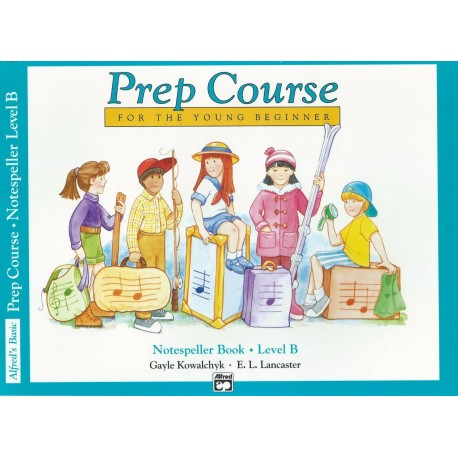 ALFRED'S BASIC PIANO PREP COURSE NOTESPELLER BOOK A FOR YOUNG BEGINNERS
