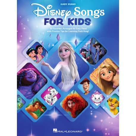 DISNEY SONGS FOR KIDS EASY PIANO