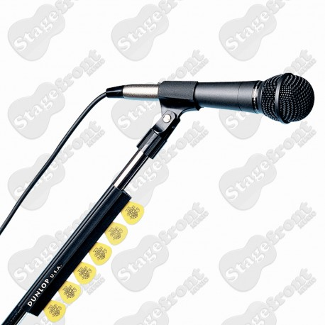 """JIM DUNLOP GOOD QUALITY MICROPHONE STAND PICK HOLDER 7"""""""
