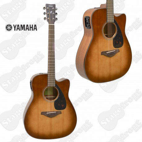 YAMAHA FGX800 CSDB ACOUSTIC ELECTRIC SOLID SPRUCE TOP GUITAR