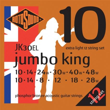 ROTOSOUND  JUMBO KING 12 STRING PHOSPHOR BRONZE GUITAR STRINGS