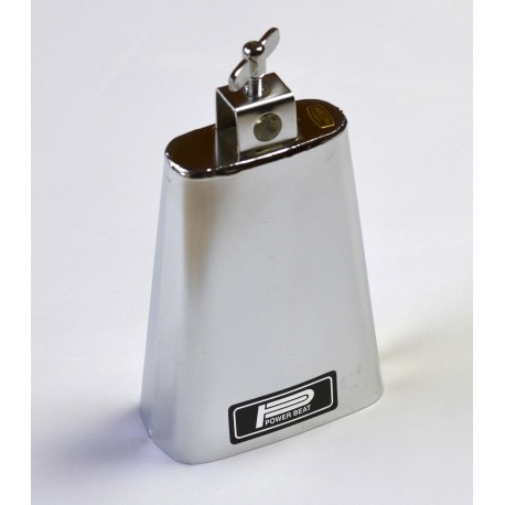 "POWERBEAT - 4½"" CHROME COWBELL  - DB744"