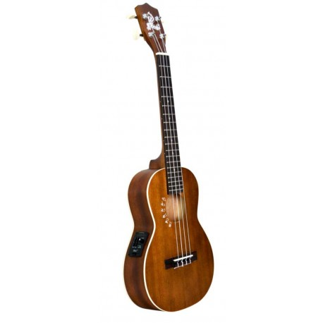 aNueNue UKULELE HULALA HO3EU OCEAN SERIES TENOR/ELECTRIC UKE WITH GIG BAG.