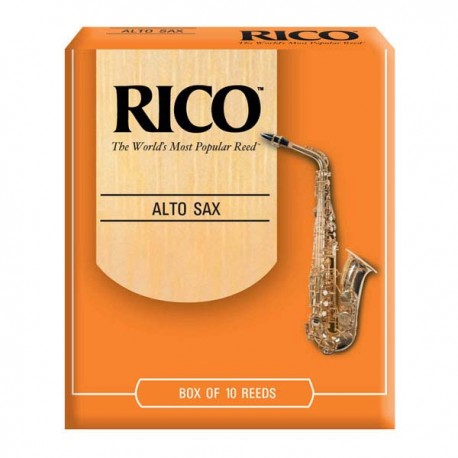 RICO ALTO SAXOPHONE REEDS 10 PACK