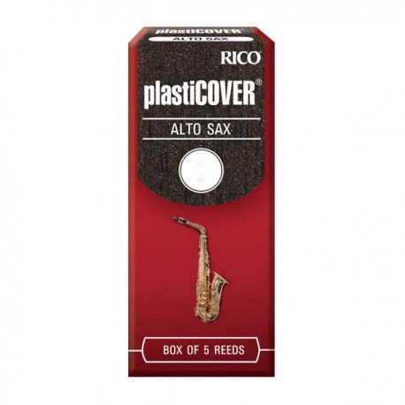 RICO PLASTICOVER ALTO SAXOPHONE REEDS 5 PACK