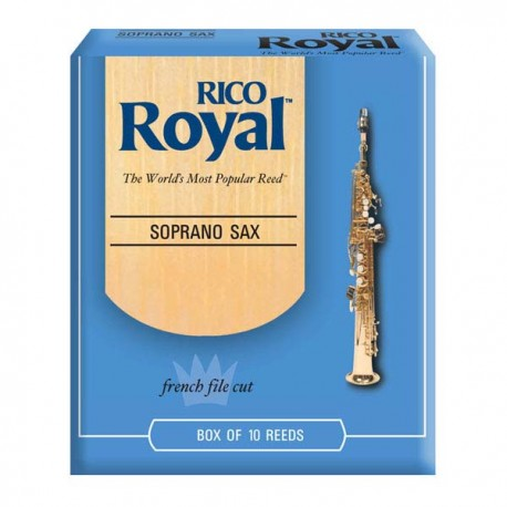 RICO ROYAL SOPRANO SAXOPHONE REEDS 10 PACK