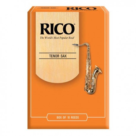 RICO TENOR SAXOPHONE REEDS 10 PACK